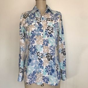 Charter Club 6 button down blouse